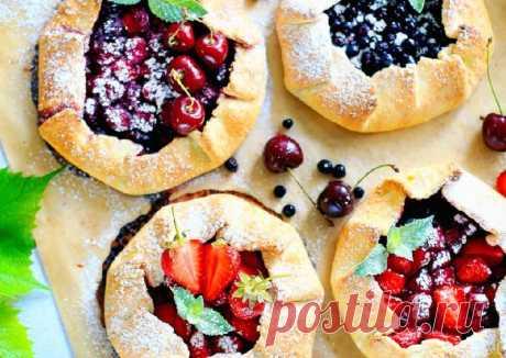 (6) Творожная галета с ягодами 🍓🍒 - пошаговый рецепт с фото. Автор рецепта Irina . - Cookpad