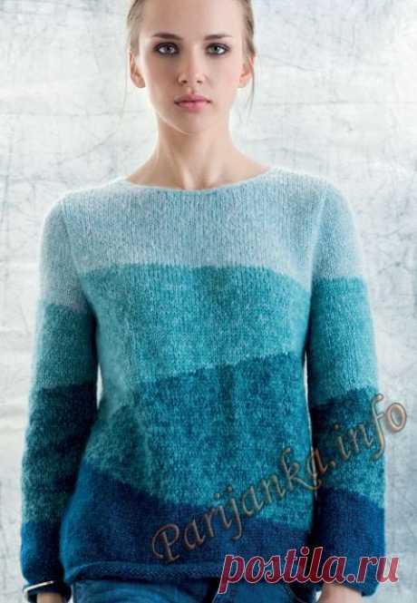 Пуловер (ж) 10*125 Phildar №4900