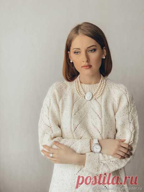 Мастер-класс смотреть онлайн: Вяжем свитер White. Описание вязания | Журнал Ярмарки Мастеров