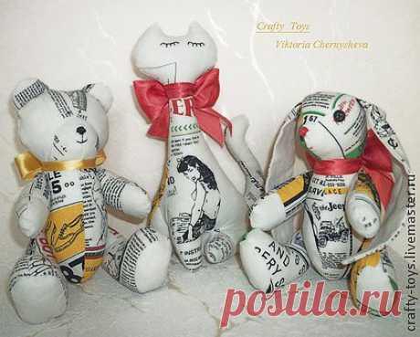 ♥Авторские игрушки♥  Такие милые зверята станут прекрасным дополнением Вашего интерьера и внесут капельку тепла и уюта в Ваш дом!