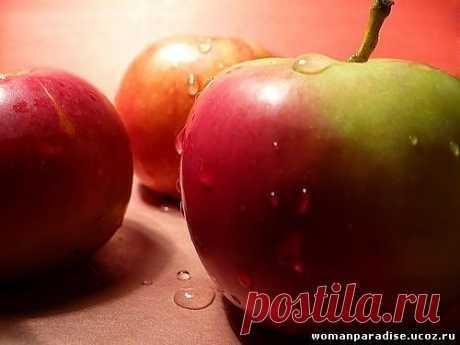 О пользе яблок - ПОЗНАВАТЕЛЬНО О ПРОДУКТАХ