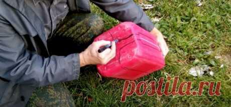 Ящик для инструментов 🔧 своими руками | Полезное преображение пластиковой канистры | КРОТ.NET - Еженедельный Журнал | Яндекс Дзен