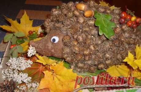 Осенние поделки для детского сада и школы (все новинки 2019) Здравствуйте! Сегодня вновь предлагаю сделать поделки в осенней тематике. Посмотрите в окно, сколько разноцветной листвы уже лежит. Сразу же нахватывают