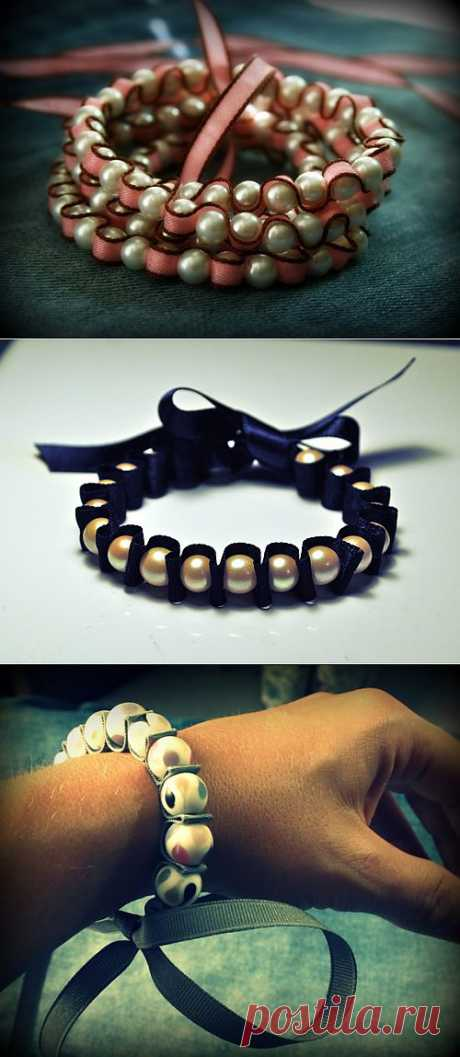 МК: жемчужный браслет - Hand-made-штучки | Dnevniki.Ykt.Ru
