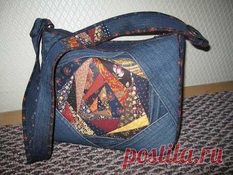 Джинсовые сумки. Интересные идеи для любителей рукоделия.