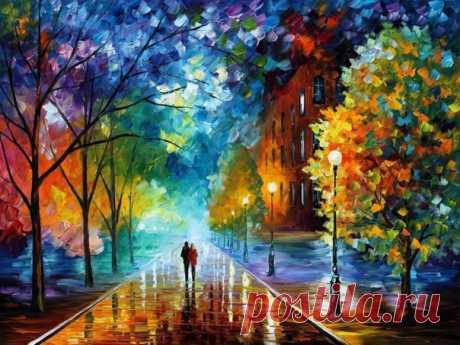 Всплески цвета: удивительные картины белорусского художника, который пишет мастихином