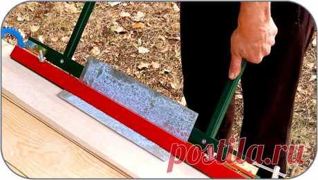 Как сделать простой листогиб без сварки Здравствуйте, уважаемые читатели и самоделкины!При работе с металлическими листовыми материалами, часто требуется согнуть их под нужным углом. Так формируются разнообразные фасонные элементы кровли, жестяные подоконники, короба для вентиляции, водосточные системы, небольшие корпуса. Большинство