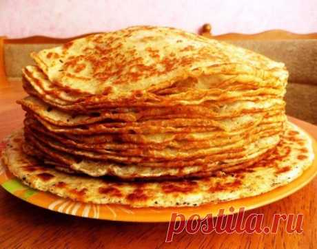 Unusual cottage cheese pancakes by a breakfast.