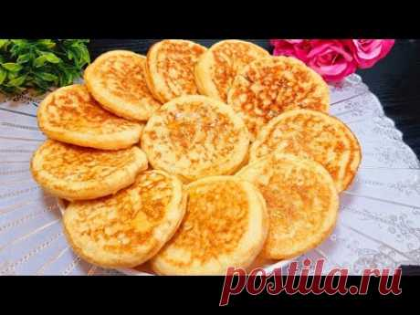 Delicious, easy and cheap breakfast recipe!Without kneading and without Oven!Soft and tasty doughnut