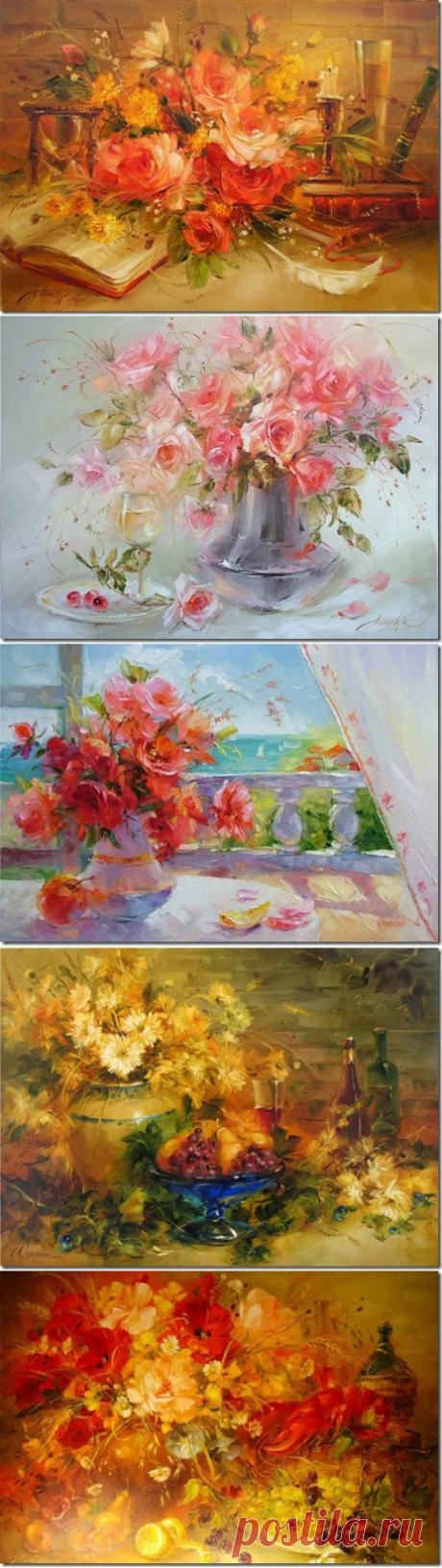 Вальс цветов. Анна Хомчик