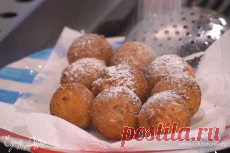 Пончики из зерненого творога , пошаговый рецепт на 4655 ккал, фото, ингредиенты - Юлия Высоцкая