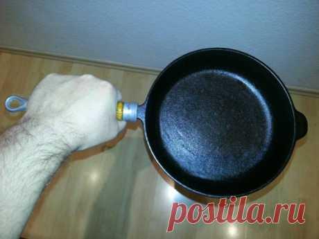 Что делать, если чугунная сковорода ржавеет — Полезные советы