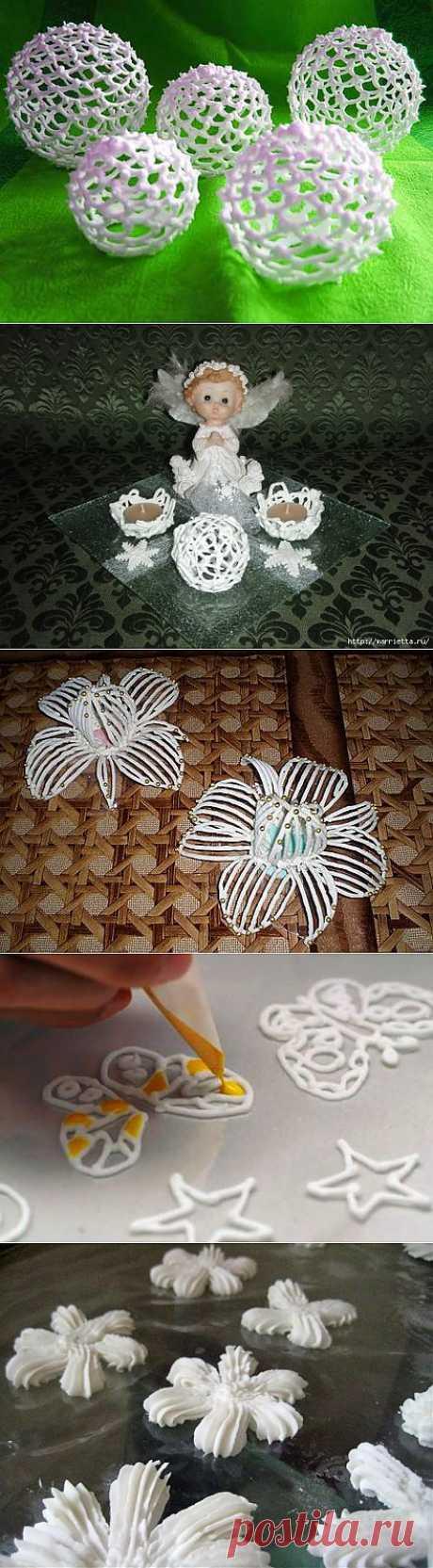Айсинг: сладкие ажурные шары. Мастер-классы | Домохозяйка