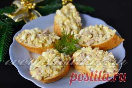 Бутерброды с печенью трески: рецепт с фото очень вкусный