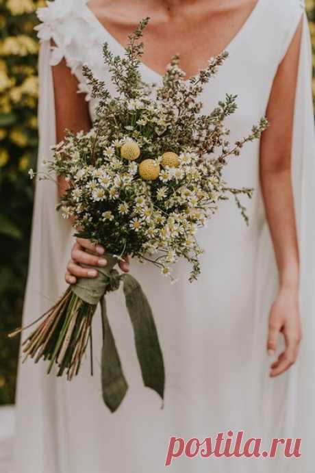 🌻 Букет невесты в стиле рустик: ТОП-10 идей 🌻