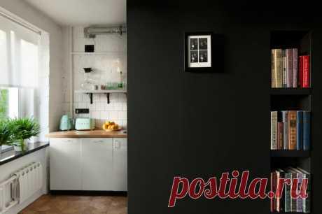 Переделка типовой квартиры хрущевки в минималистичную студию-лофт с мебелью из Икеи