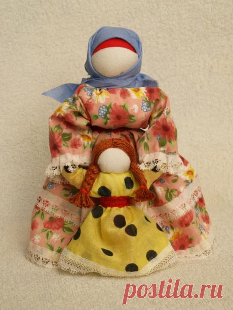 Народные куклы. Небольшой обзор сделанных мной красавиц | Ёлки зелёные! | Яндекс Дзен