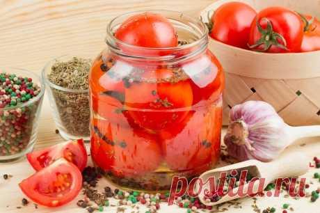 Fresh-salted tomatoes