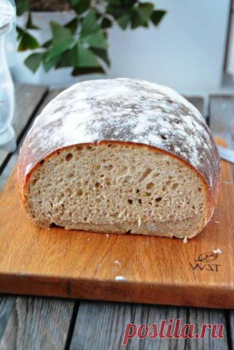 Праздничный заварной хлеб ( Šventinė duona) на закваске • Хлеб на закваске