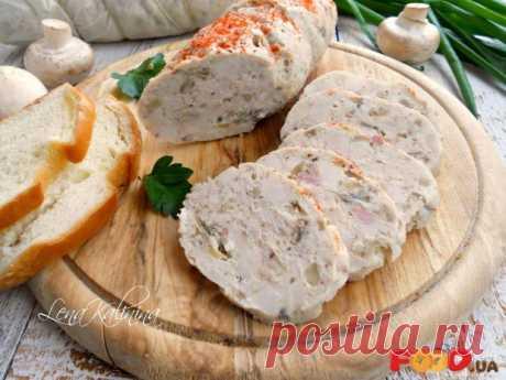 Колбаса куриная с грибами - Food.ua