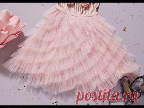 Шьем платье принцессы - подборка мк