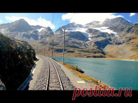 ★ Cab ride St. Moritz - Tirano (Bernina pass), Switzerland to Italy [10.2019]