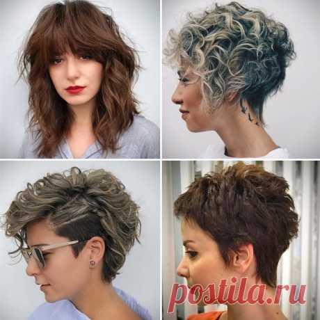 Как подстричься, чтобы не ходить к парикмахеру каждый месяц. Женщинам 50+   О красоте с Натальей Кононовой   Яндекс Дзен