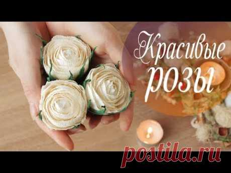 Creamos la composición de las rosas del papel en la cajita del cartón - la anotación del usuario AlinaRomanovna (Alina) en la comunidad el Trabajo con el papel en la categoría Otros artículos del papel y el cartón