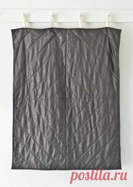 Как сшить простое стёганое одеяло: мастер-класс