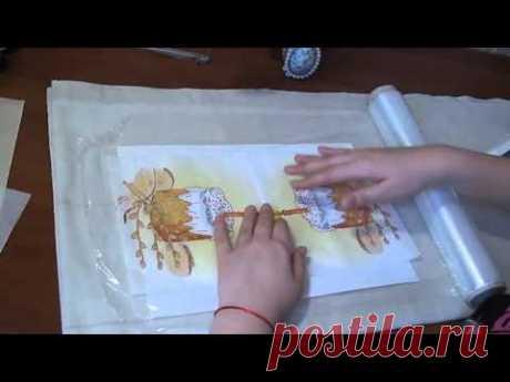 DIY КАК СДЕЛАТЬ СКРАП БУМАГУ Своими руками Цветной картон из салфеток Поделки с детьми!