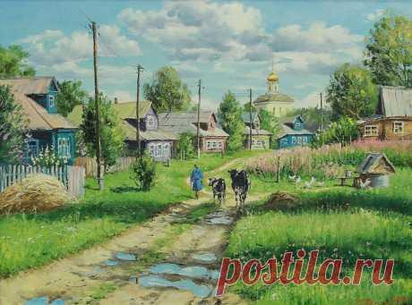 Творчество современного художника Олега Пятина