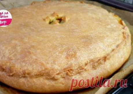 Сочный пирог в духовке с мясом и картошкой, рецепт без дрожжей - пошаговый рецепт с фото. Автор рецепта Еда на любой вкус . - Cookpad