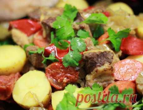 Басма – это мясо тушеное в овощном соке