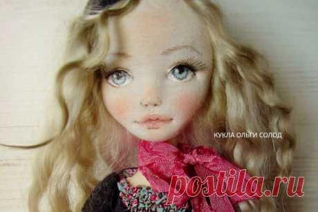 Как сделать выразительное кукольное лицо | all Dolls