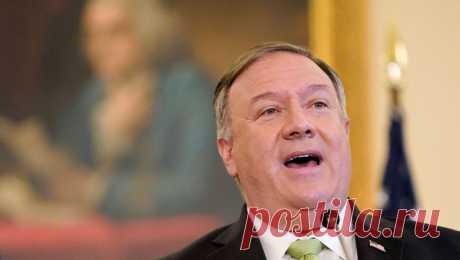 Помпео спросили, кого США признают легитимным президентом Белоруссии Госсекретаря США Майка Помпео спросили в ходе интервью на Fox News о том, кого Белый дом признает легитимным президентом Белоруссии.