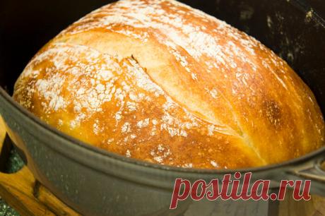 """Самый лучший хлеб """"без замеса"""". Версия 4.0 - Люда — LiveJournal"""