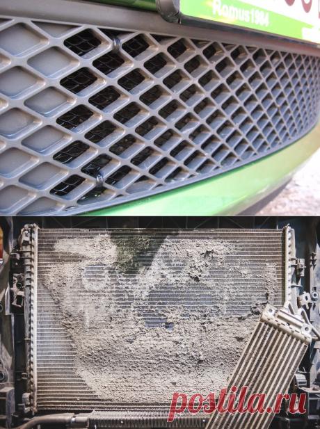 Установил сетку на радиатор. Перестал слушать вентилятор. | Avto Life | Яндекс Дзен