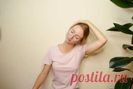 Разминаем шею, чтобы иметь отличное зрение | Анна Животикова | Яндекс Дзен