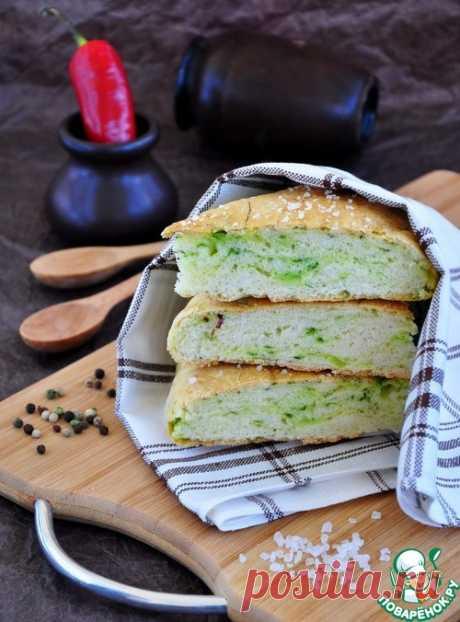Фокачча с водорослями – кулинарный рецепт