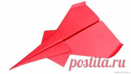 Как сделать самолетик из бумаги, который далеко летит | Другие поделки из бумаги и картона