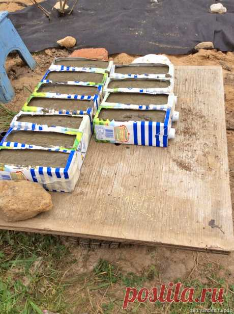 Как я делал бетонную брусчатку | Покорители Дикого Подмосковья | Яндекс Дзен