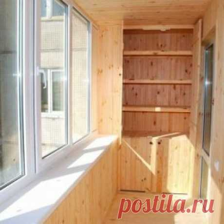 Balcony covering lining – a beautiful and warm covering the hands
