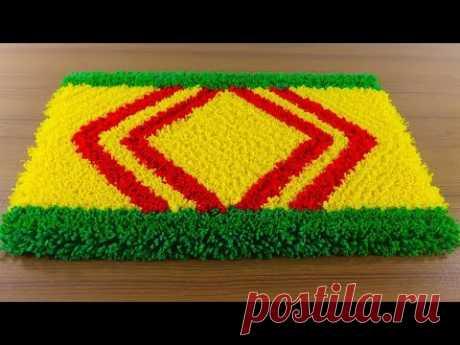 ☔নাইস ডোরমেট আইডিয়া 🚲 Make Awesome Handmade Doormat At Home ! - YouTube