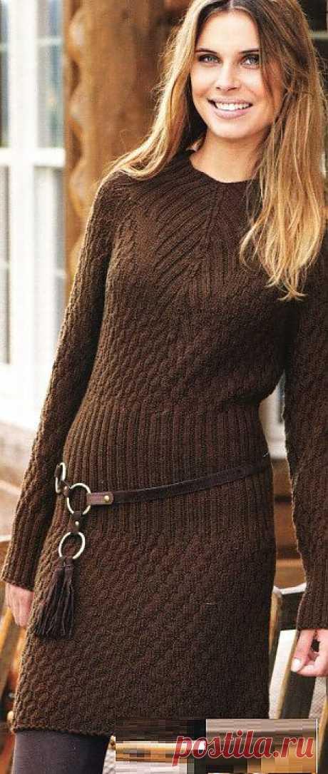 Платье | Схемы вязания