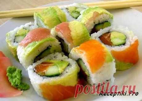 Японская кухня - Домашний рецепт суши - быстро, вкусно и просто