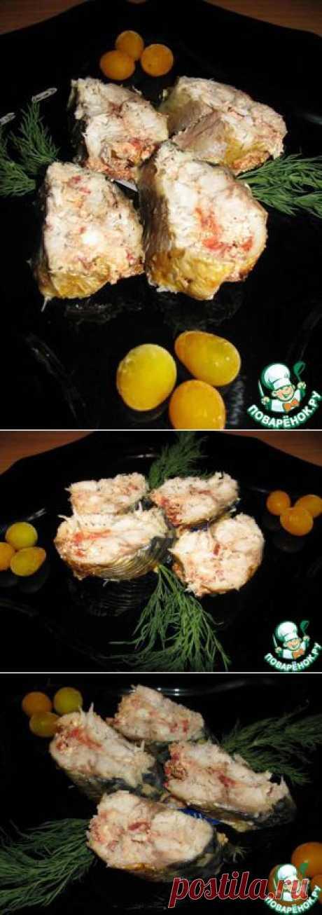 Рулет из скумбрии с фетой и вялеными помидорами - кулинарный рецепт