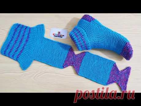 Очень легкие женские носки пинетки вязаные модели