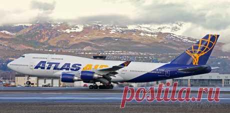 Фото GTI Boeing 747-400 (N465MC) ✈ FlightAware