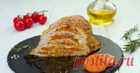 Как приготовить куриную грудку с сыром в духовке - Со Вкусом