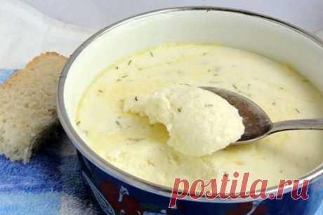Полезный домашний плавленный сыр: никаких растительных жиров и вредных консервантов Деткам готовьте только такой сыр!